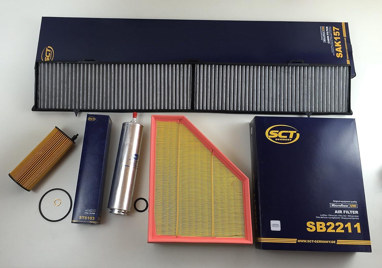 Filter Set Ölfilter Luftfilter Aktivkohlefilter Kraftstofffilter Auto