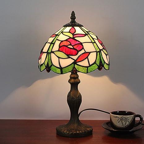 Amazon.com: Gweat 8 Inch Pastoral Retro Antique Tiffany ...