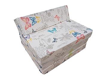 El sillón de colchón plegable para invitados con forma de sillón sofá cama plegable con colchón de la cama (081GLO): Amazon.es: Hogar