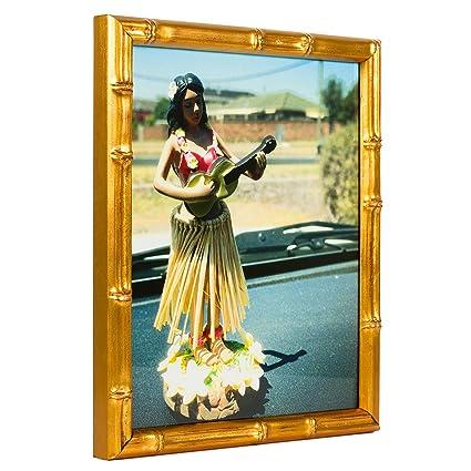 Amazon.com - Craig Frames Vintage Gold Bamboo Composite Picture ...