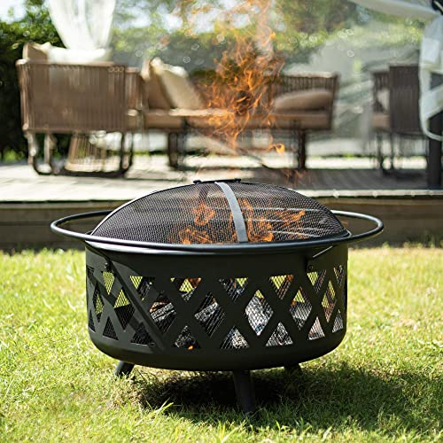 CO-Z 30-Inch Outdoor Fire Pit