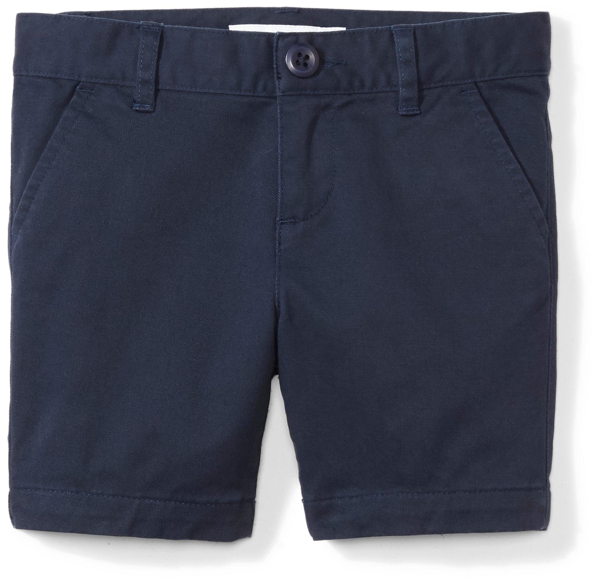 Amazon Essentials Girls' Uniform Short, Navy Blazer,14