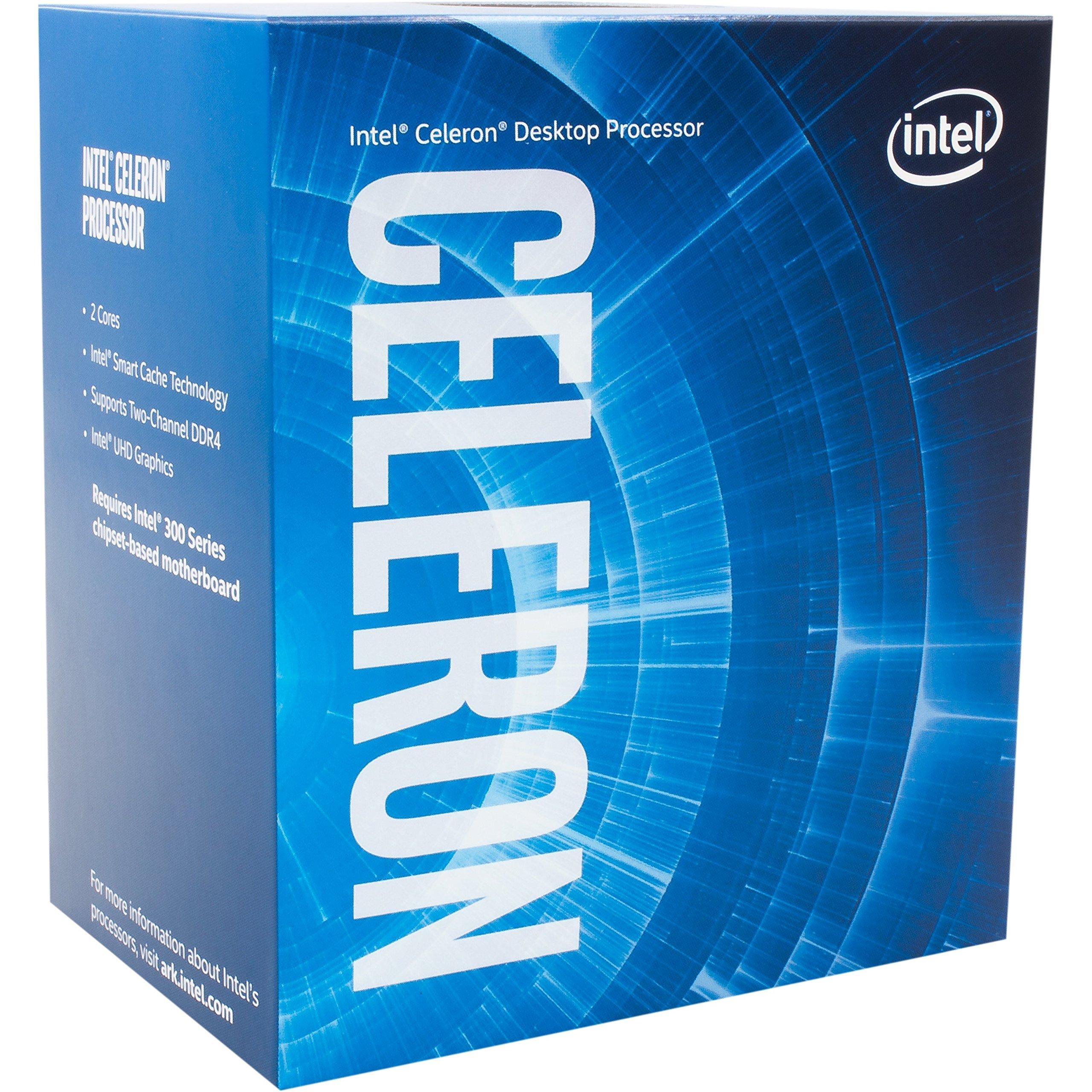 Intel Celeron G4900 Desktop Processor 2 Core 3.1GHz LGA1151 300 Series 54W BX80684G4900 by Intel
