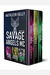 Savage Angels MC Collection Books 4-6 (Motorcycle Club Romance) Kindle Edition