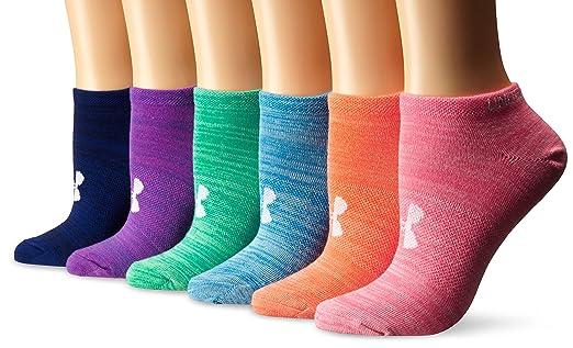 UNDER ARMOUR 女式袜子,6双才 $13.99!