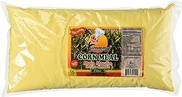 Yummmy Fine Grit Cornmeal 56 Oz, Gluten Free, Kosher Certified, 100% natural