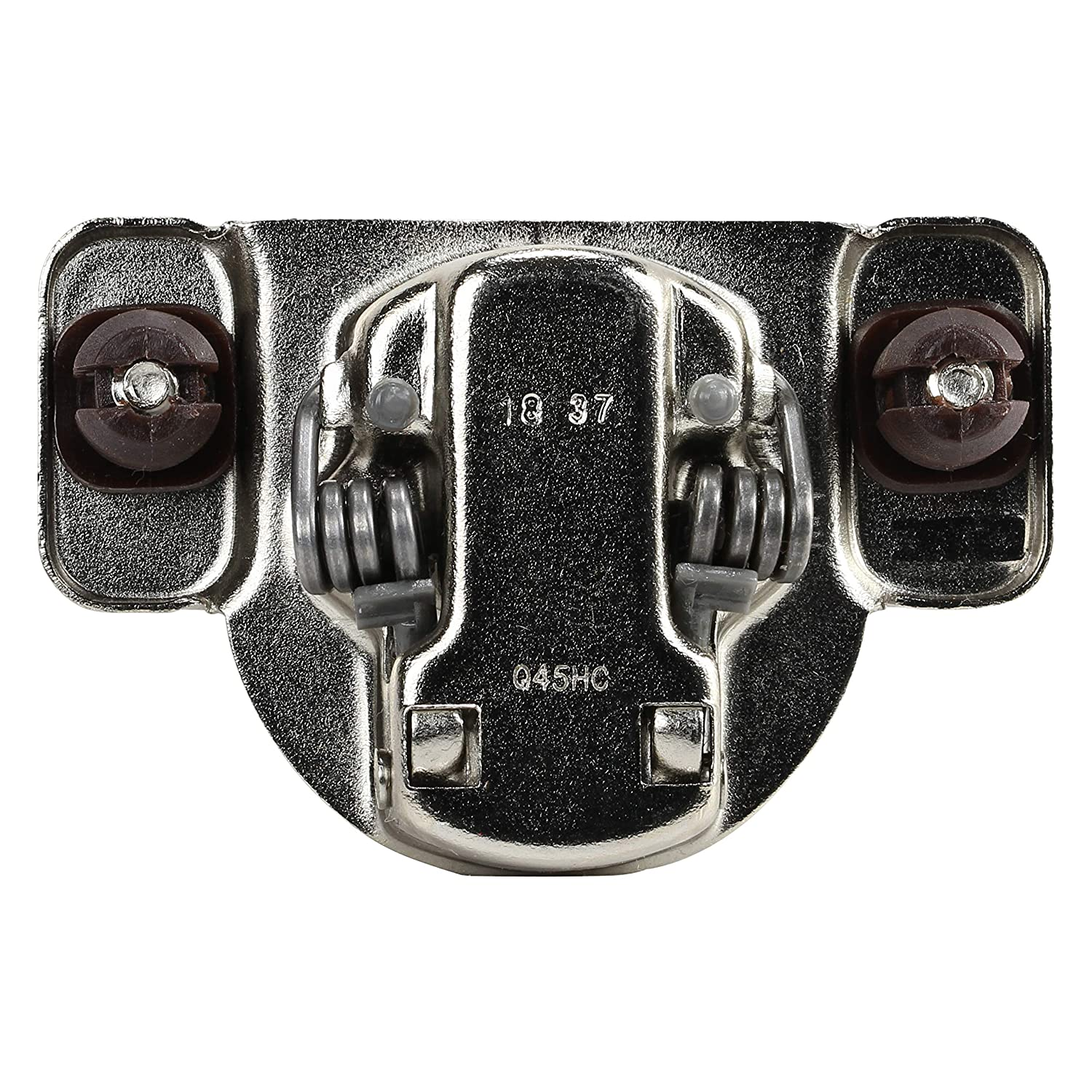 10 Pack DTC 1//2 Overlay Soft Close 105 Degree 2 Cam/Press in Face Frame Cabinet Hinge H8E055H