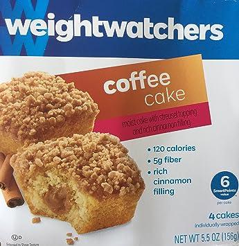 Weight Watchers Coffee Cake 55 Oz 3 Packs Amazon Grocery