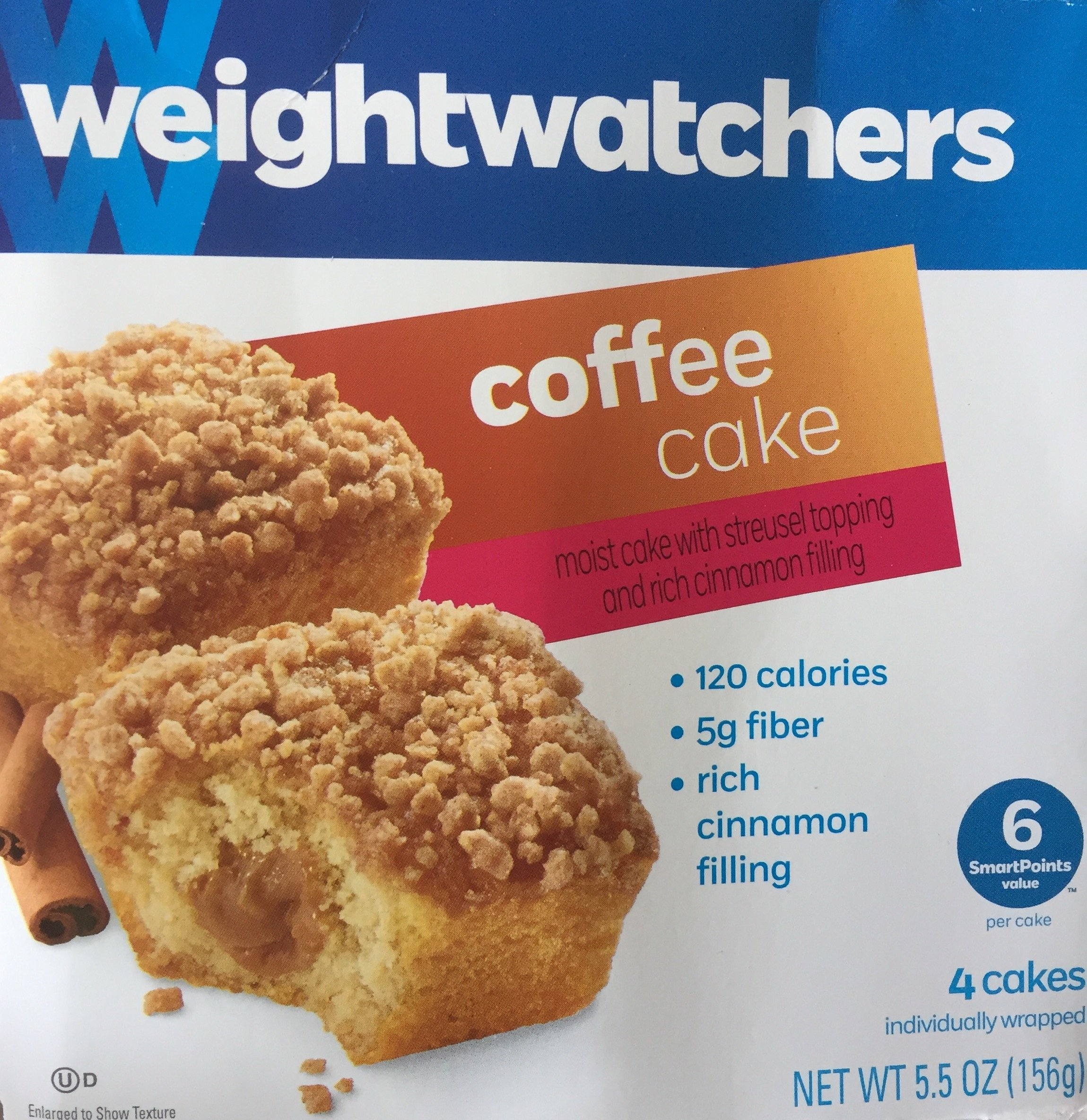 Weight Watchers Coffee Cake 55 Oz 3 Packs Amazon Grocery