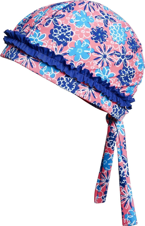 lachs Cappellopello Bambina Taglia Produttore: 55cm Large Multicolore Playshoes Kopftuch Badem/ütze Veilchen mit UV-Schutz