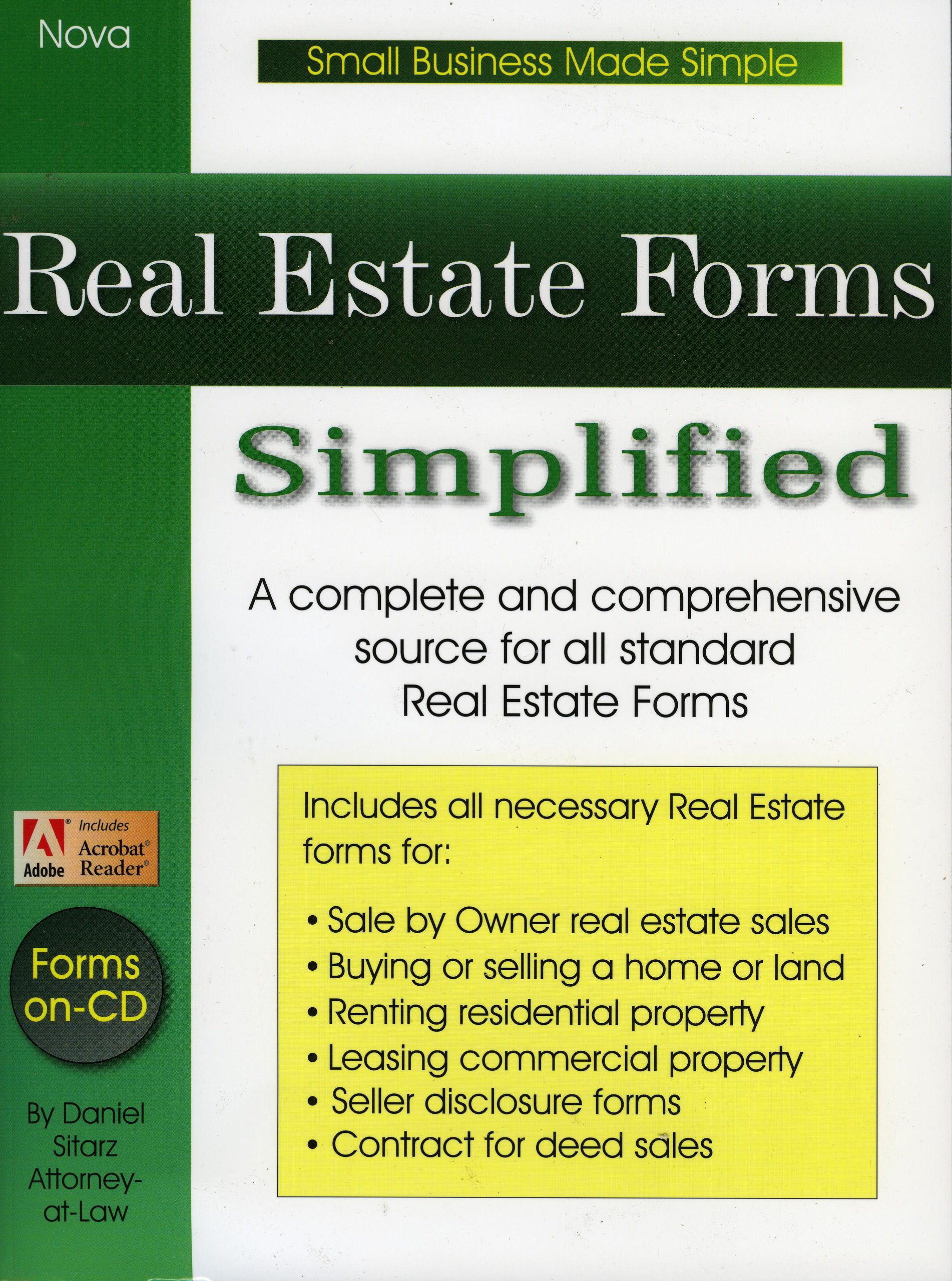 Download Real Estate Forms Simplified pdf