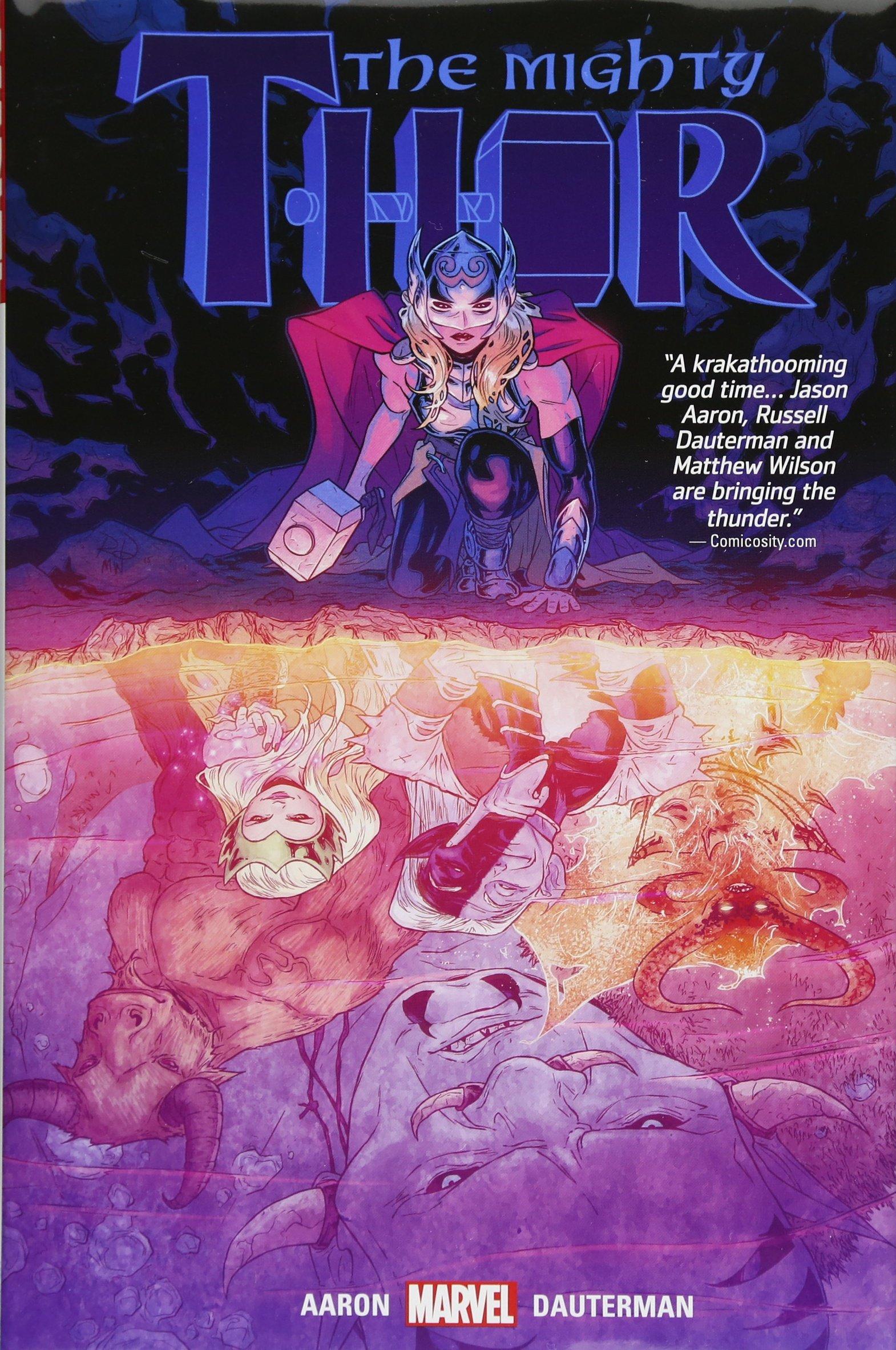 Thunder girl another world superhero manga pictures