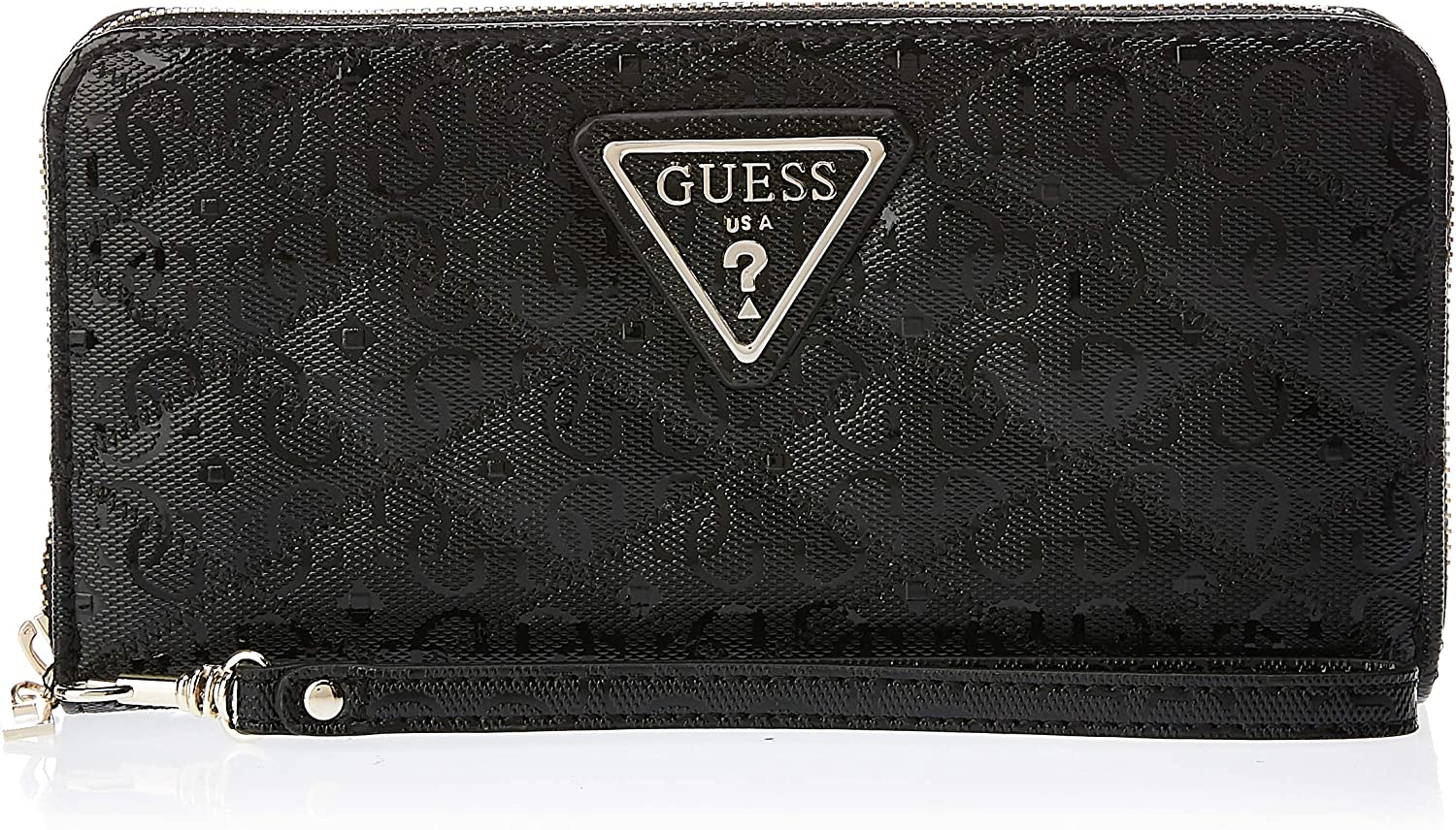 Guess Astrid SLG Large Zip Around Black