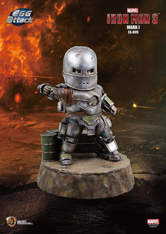 Beast Kingdom Egg Attack Mark 2.5cm Iron Man 7.6cm Figurine