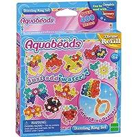 Aquabeads-79278 Dazzling Ring Set, Epoch para Imaginar 79278