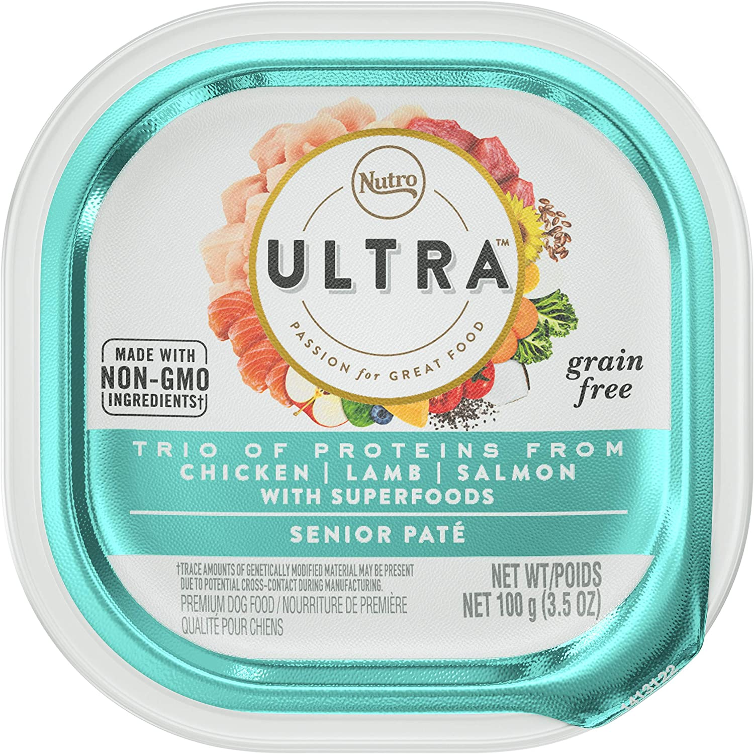 Nutro Ultra Grain Free Paté Adult & Senior Wet Dog Food