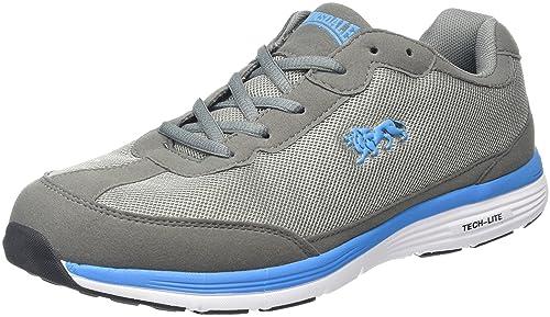 Lonsdale Kamina, Zapatillas De Deporte para Exterior para Hombre, Gris (Grey/Blue