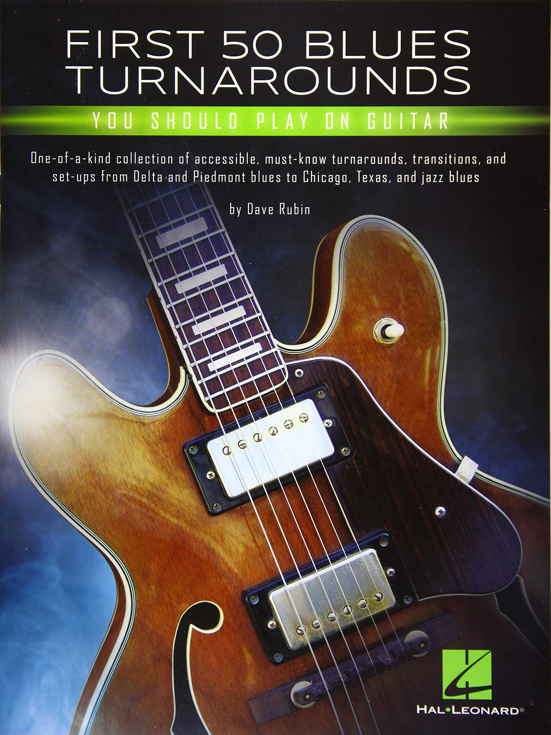 First 50 Blues Turnarounds You Should Play on Guitar: Amazon.es ...