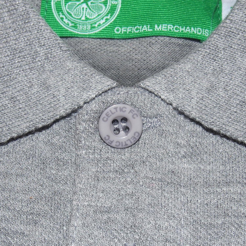 Polo de football pour homme avec blason officiel Celtic FC officiel