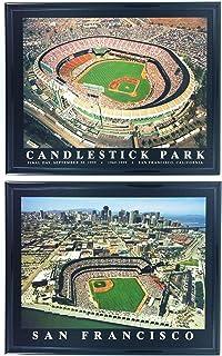 Candlestick park framed photos Vintage Baseball Collectibles and Memorabilia