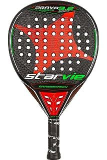 StarVie Brava 9.2 DRS Soft Pala de pádel, Unisex Adulto, Rojo-Naranja,