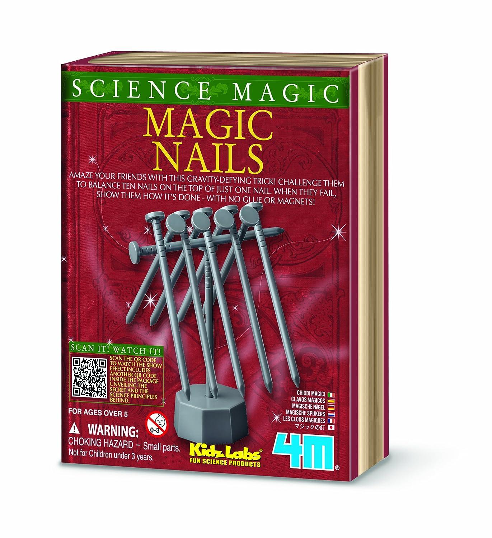 Amazon.com: 4M Kidz Labs Science Magic Nails: Toys & Games