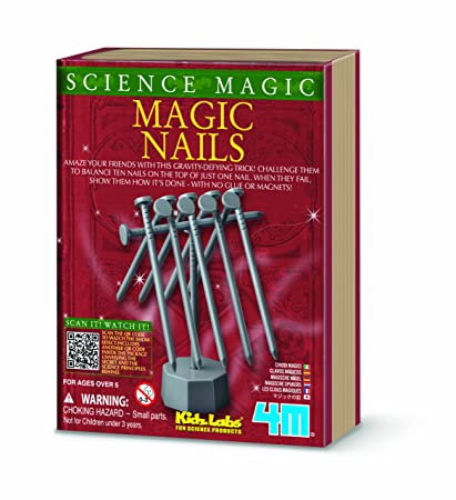 1d5bb1c40 Image Unavailable. Image not available for. Color: 4M Kidz Labs Science  Magic Nails