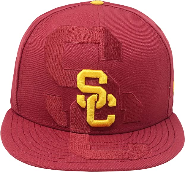 3f16924af Amazon.com: Trojans New Era 9fifty Hat USC College Logo Spill ...