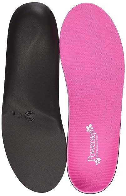 210261c874 Amazon.com: Powerstep Pinnacle Pink Full Length Orthotic Shoe ...