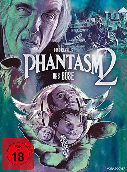 Phantasm II - Das Böse II - Mediabook/Version A  (+ DVD) (+ Bonus-DVD) [Blu-ray]