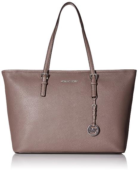 Michael Kors Michael Kors Jet Set Travel Grey Shopping Bag Grey ... 46001bc8c