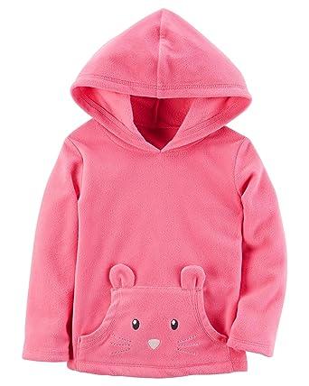 65d35e316 Amazon.com  Carter s Baby Girls  Pullover Fleece Hoodie  Clothing