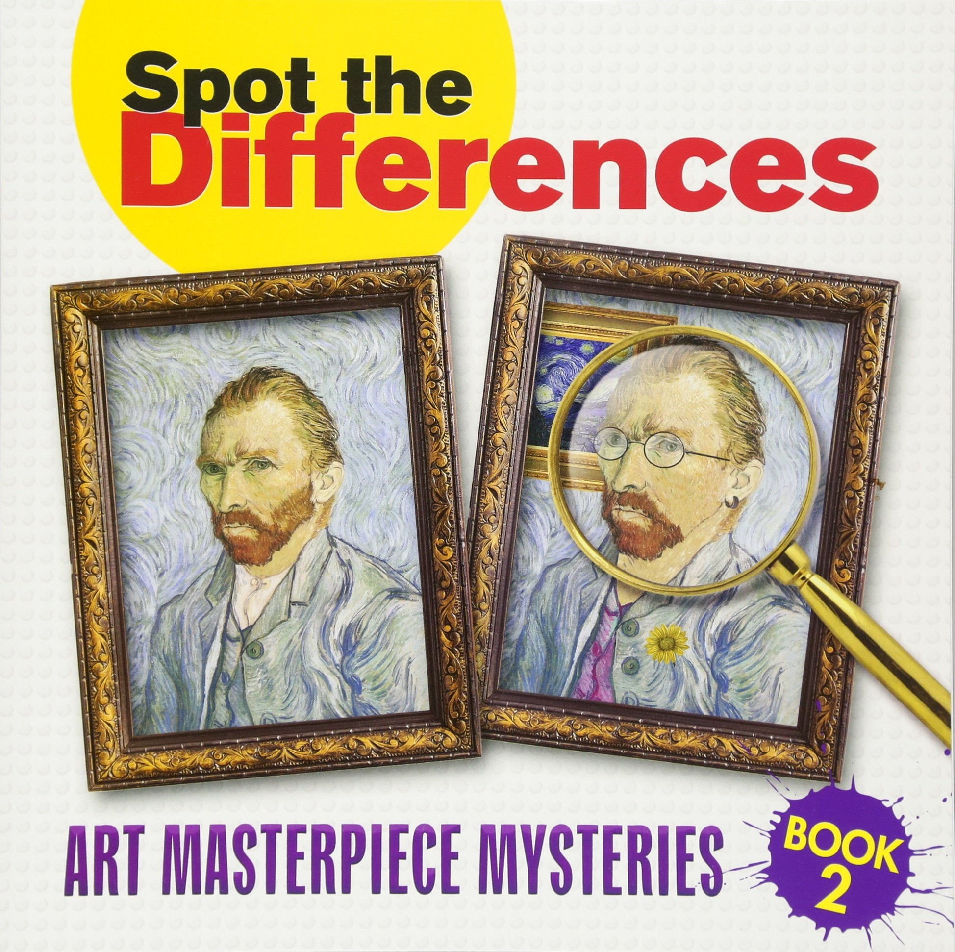 Spot Differences Book Masterpiece Mysteries product image