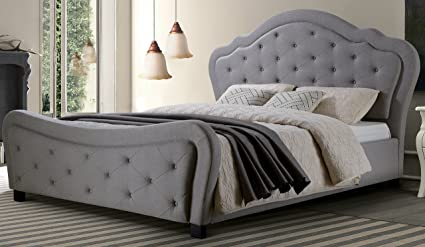 Exceptionnel Best Quality Furniture Cal King Bed, California King, Gray