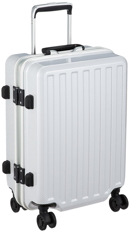 [アメリカンフライヤー] スーツケース等 MAX-Capa W 保証付 36L 49 cm 3.2kg B072JKD774 カーボンホワイト