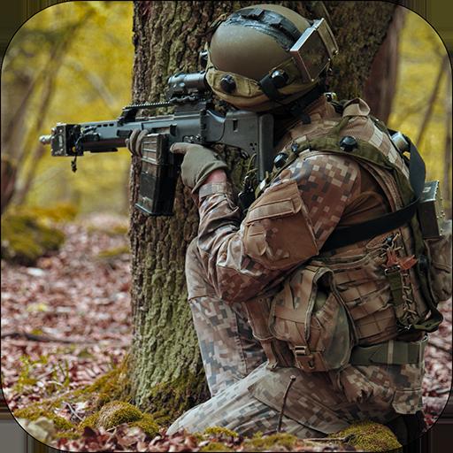 Combat Commando Jungle Shooting War