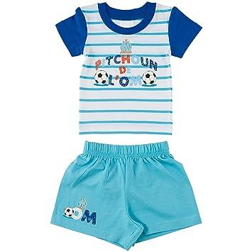 OLYMPIQUE DE MARSEILLE T-Shirt + Short Om - Collection Officielle Taille  bébé garçon 12m 5e0615addb8
