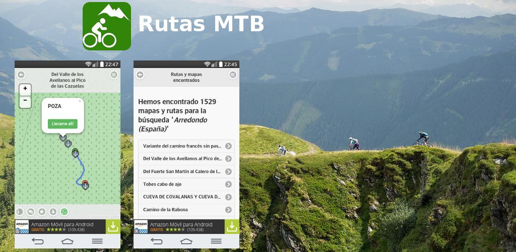 Rutas MTB: busca rutas de bicicleta de montaña en tu móvil android ...