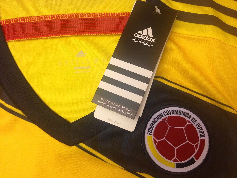 Adidas Camiseta Selección Colombia Mujer 2014 Maglia della Colombia: Amazon.es: Deportes y aire libre