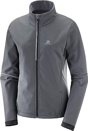 Polyamide//Elasthanne//Polyester Taille XL LC1370800 Bleu Blithe AGILE SOFTSHELL JKT M Salomon Veste Softshell Homme