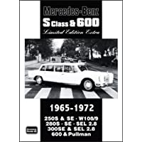 Mercedes-Benz S Class & 600 Limited Edition 1965-1972