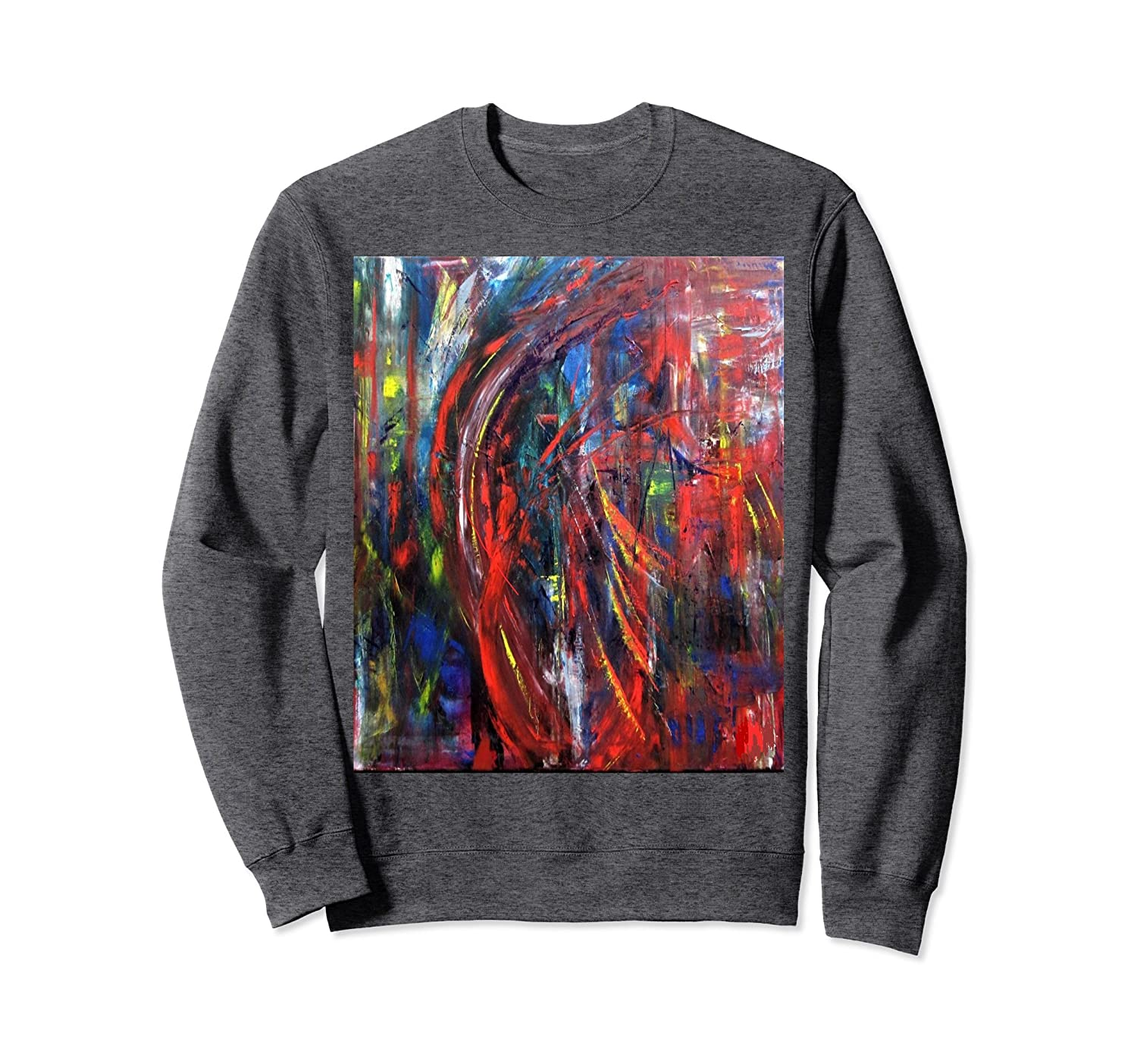 Abstract Non Objective Art Sweat Shirt-mt