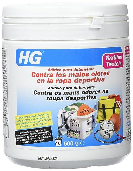 HG 133050130 - aditivo para detergente contra los malos olores en ropa deportiva (envase de
