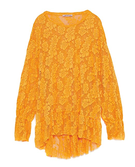 Zara Camisas - Para Mujer Amarillo M