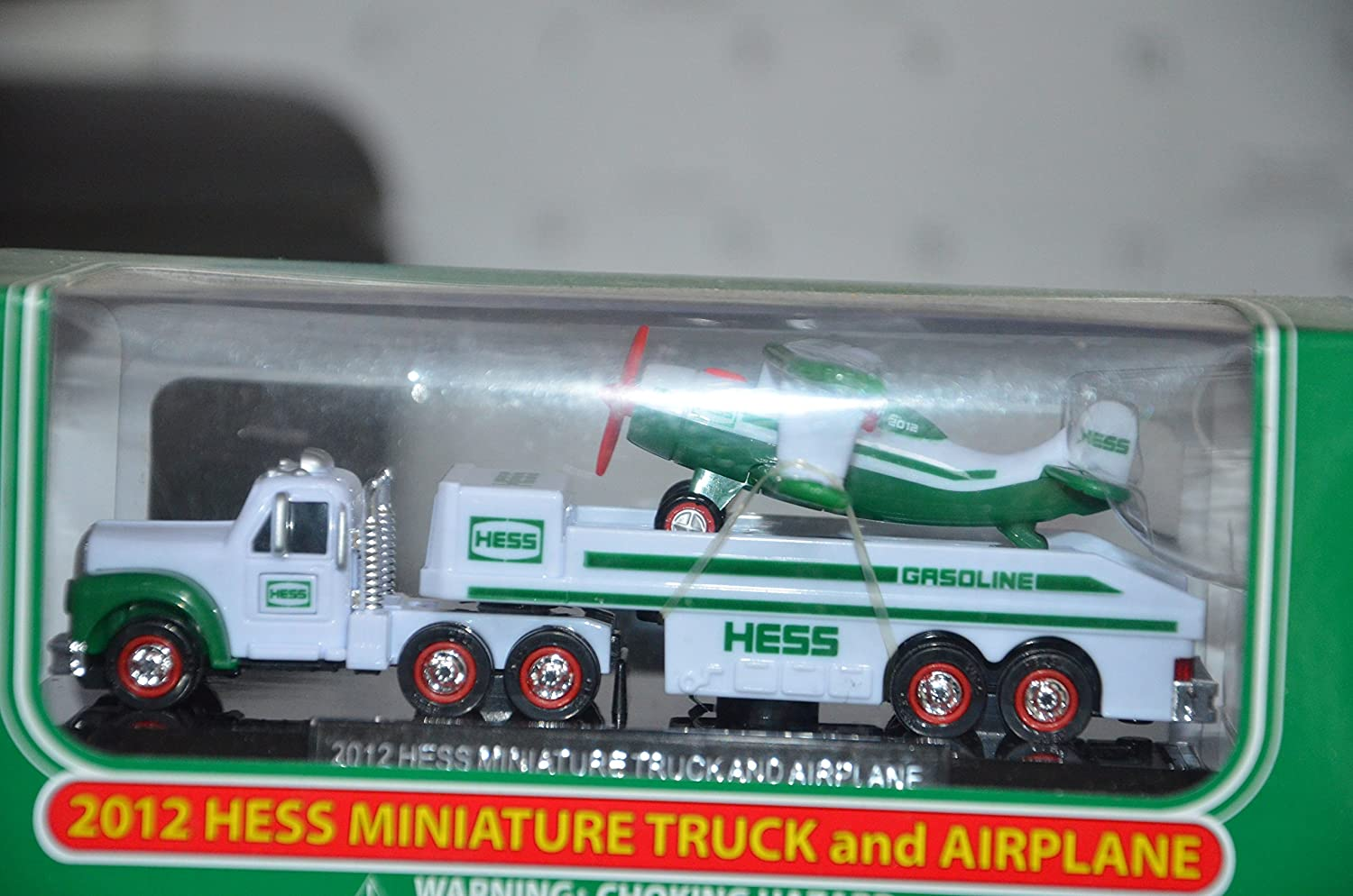 2012 HESS MINI TRUCK AND AIRPLANE NEW IN BOX  Free Shipping