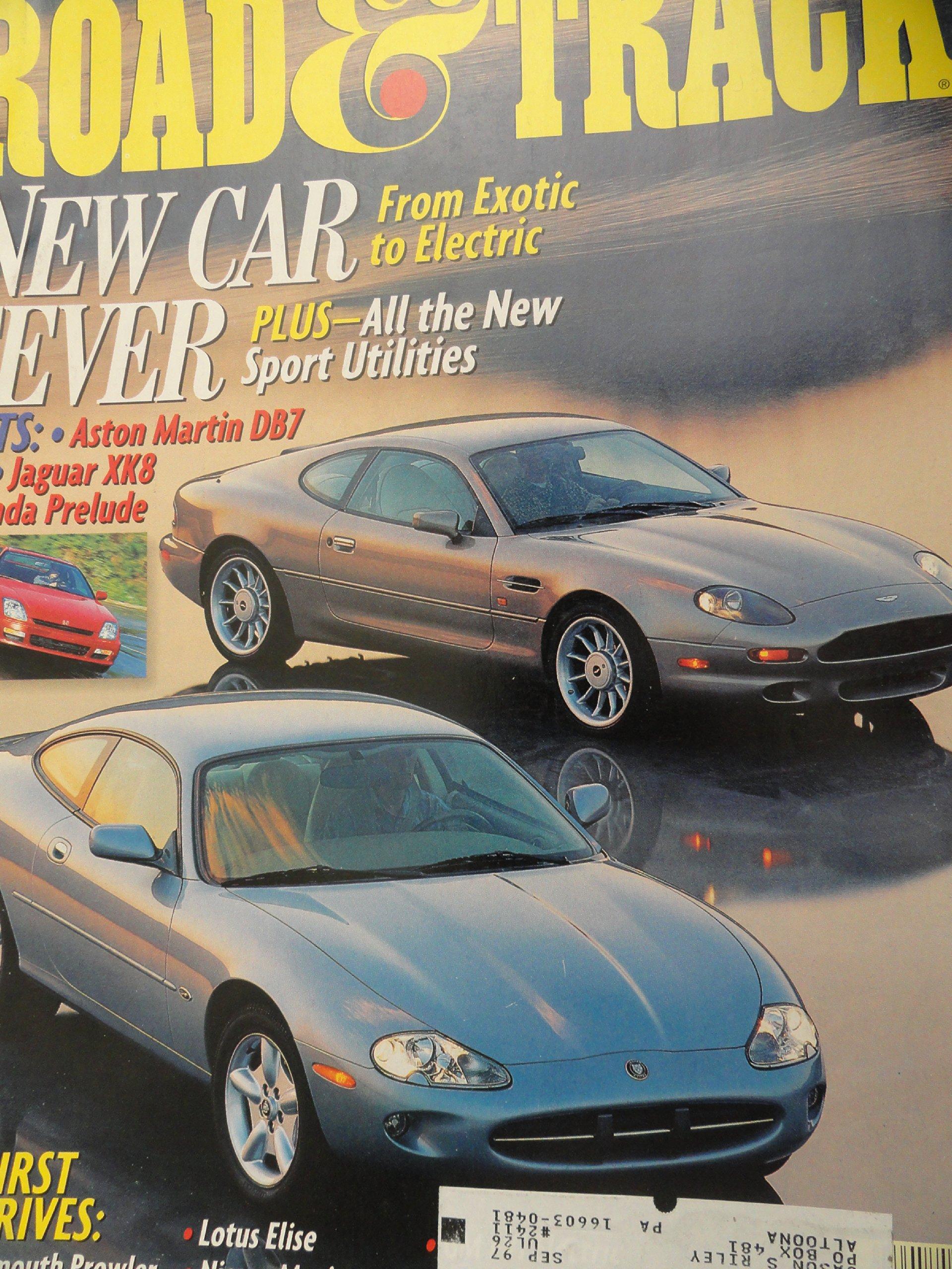1997 Jaguar XK8 Coupe / Honda Prelude Type SH Road Test: Road and Track  Magazine: Amazon.com: Books