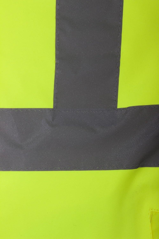 Blackrock 80500/Jaune//noir haute visibilit/é Softshell Veste classe 3 En20471