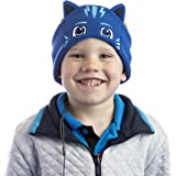 PJ Masks Catboy Kids Headphones by CozyPhones - Over The Ear Headband Headphones - Volume Limited with Thin Speakers & Soft F