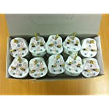 Box of 20 x 13A Plug Tops to BS1363 / Kite Marked