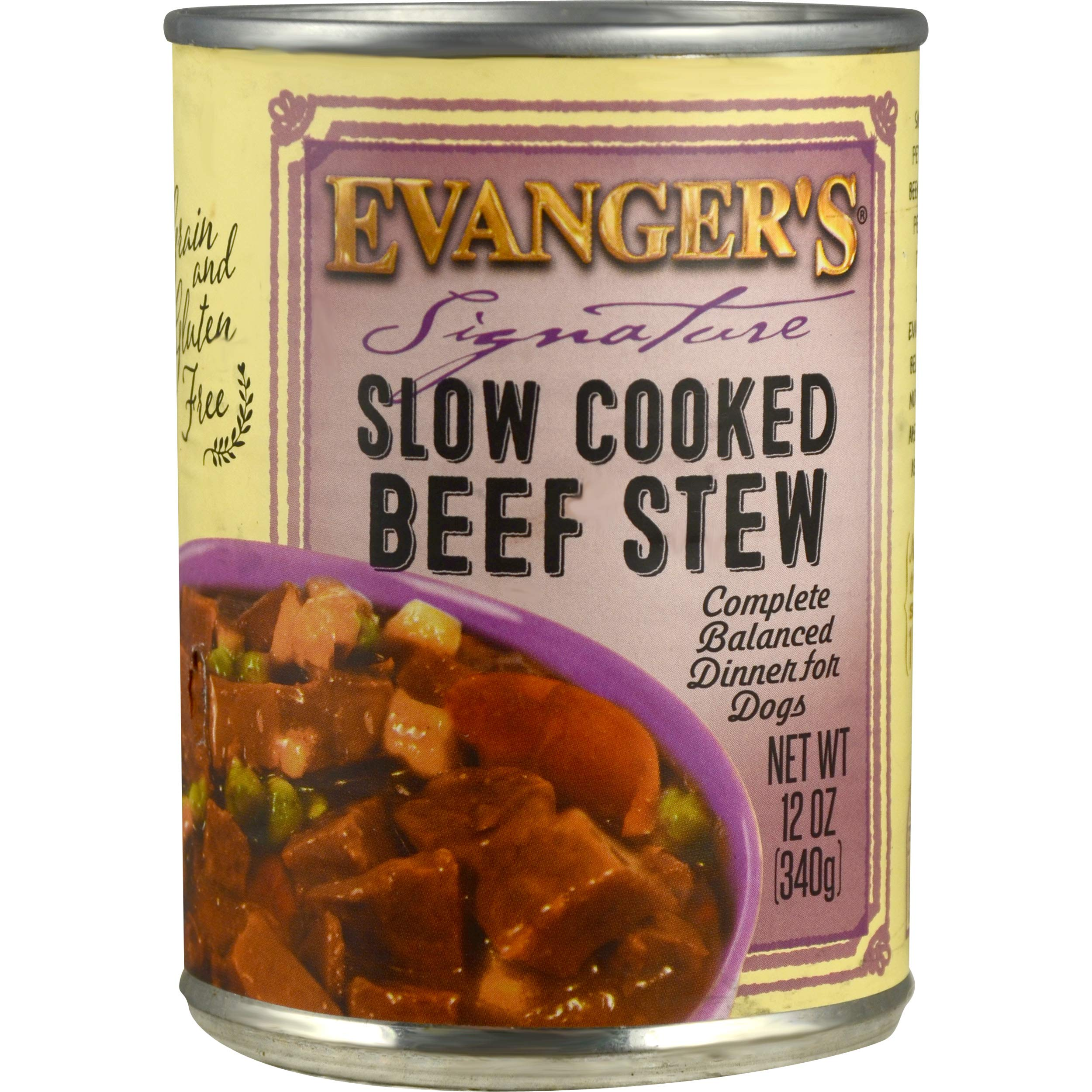 Evangers SS Beef in Gravy Canned Dog Food 12/12oz by Evangers